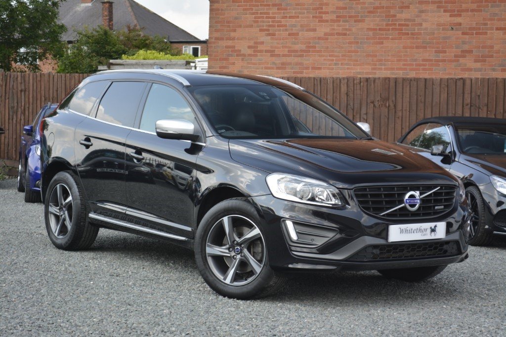 used Volvo XC60 D5 R-DESIGN LUX NAV AWD in leicestershire
