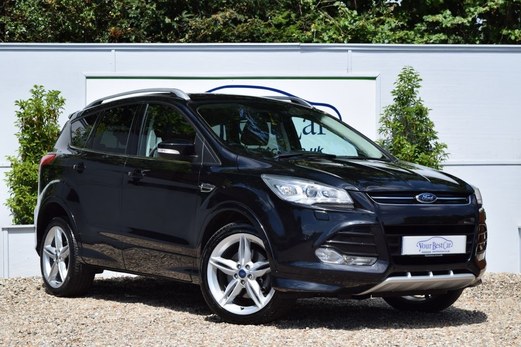used panther black metallic ford kuga for sale kent. Black Bedroom Furniture Sets. Home Design Ideas