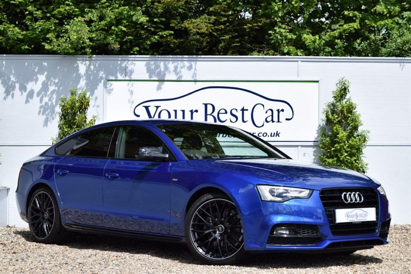 used Audi A5 TDI S LINE BLACK EDITION PLUS with Rear Camera + Front & Rear Seat Heating in cranbrook-common-kent