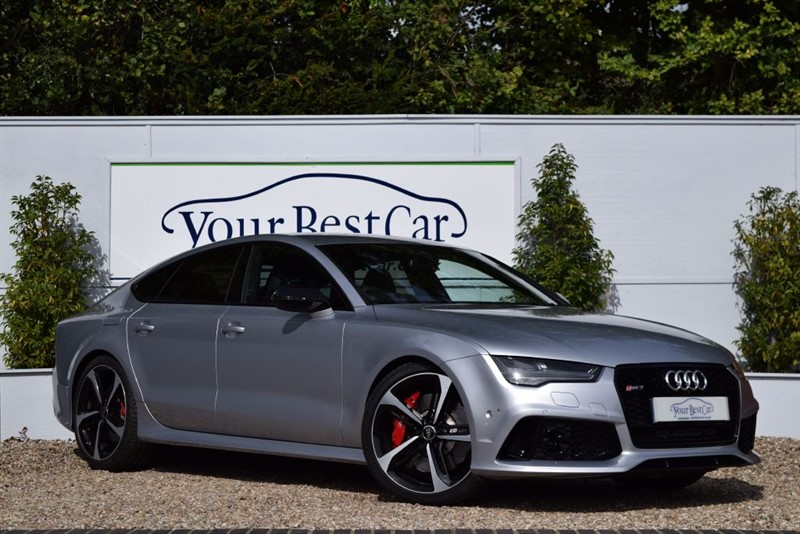 used Audi RS7 RS7 SPORTBACK TFSI V8 QUATTRO in cranbrook-common-kent