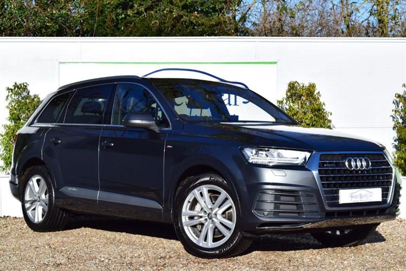 used Audi Q7 TDI QUATTRO S LINE (SUNROOF + FULL VALCONA LEATHER) in cranbrook-common-kent