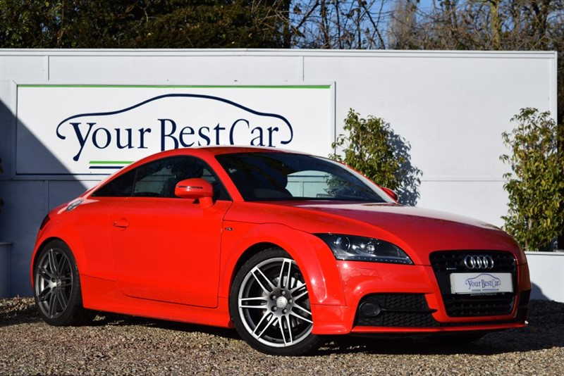 used Audi TT TFSI QUATTRO S LINE BLACK EDITION in cranbrook-common-kent
