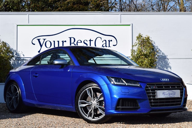 used Audi TT TTS TFSI QUATTRO (TECH + COMFORT PACKS) in cranbrook-common-kent
