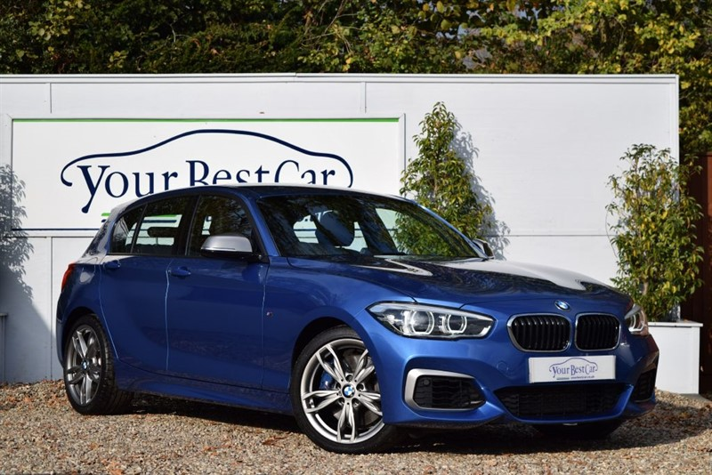 used BMW 1 Series M 135i (Satellite Navigation + Black Leather Seats) in cranbrook-common-kent