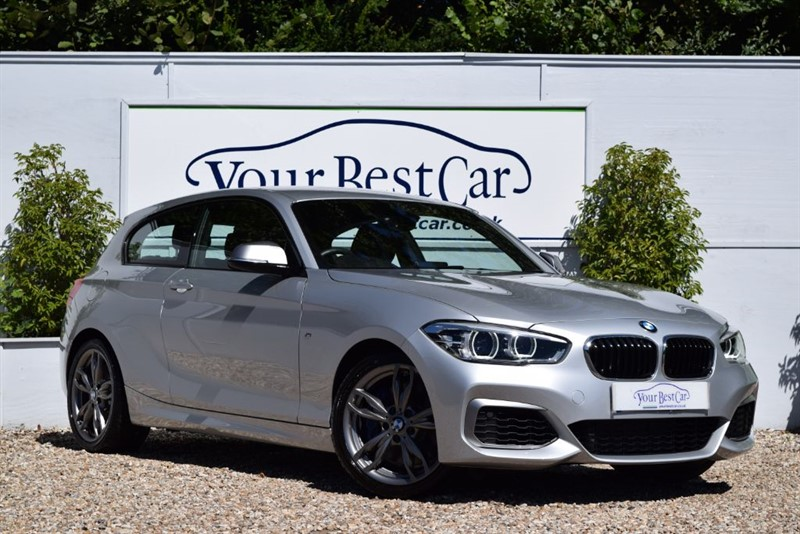 used BMW 1 Series M M140i (SAT NAV + 1 PRIVATE OWNER) in cranbrook-common-kent