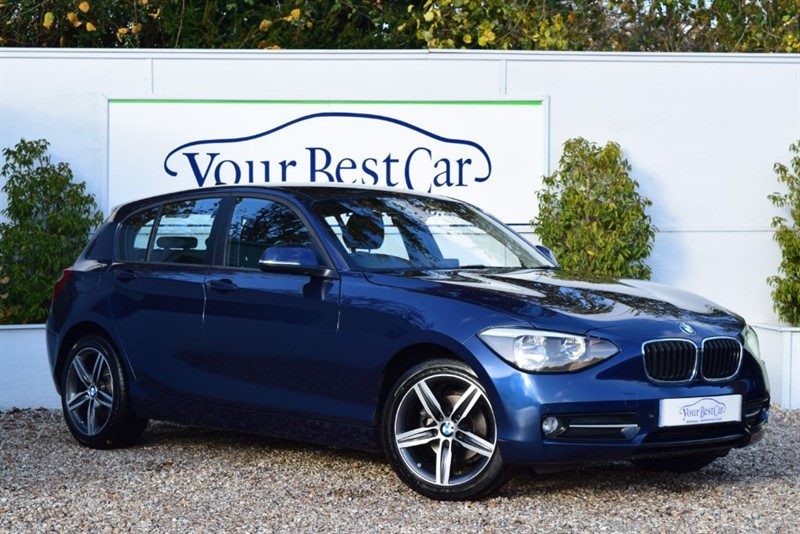 used BMW 116i SPORT (FRONT AND REAR SENSORS + BMW SERVICE PACK) in cranbrook-common-kent
