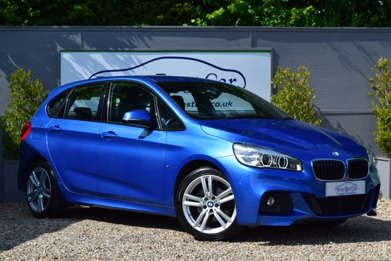 used BMW 220d M SPORT ACTIVE TOURER in cranbrook-common-kent
