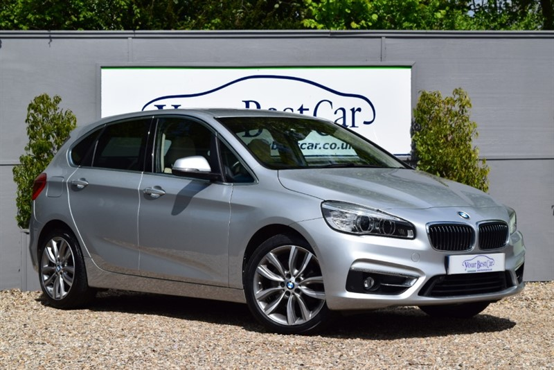 used BMW 220d XDRIVE LUXURY ACTIVE TOURER in cranbrook-common-kent