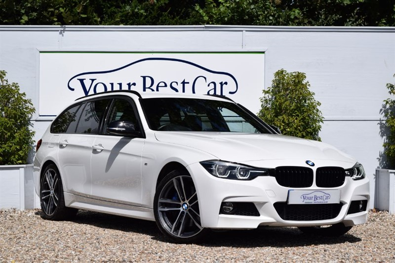 used BMW 320d M SPORT SHADOW EDITION TOURING in cranbrook-common-kent