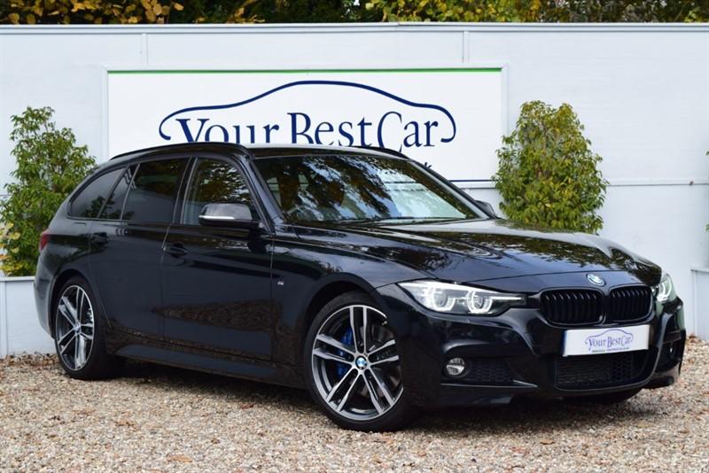 used BMW 320d M SPORT SHADOW EDITION TOURING (HARMAN KARDON + HEATED SEATS) in cranbrook-common-kent