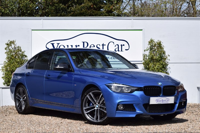 used BMW 320d M SPORT SHADOW EDITION in cranbrook-common-kent