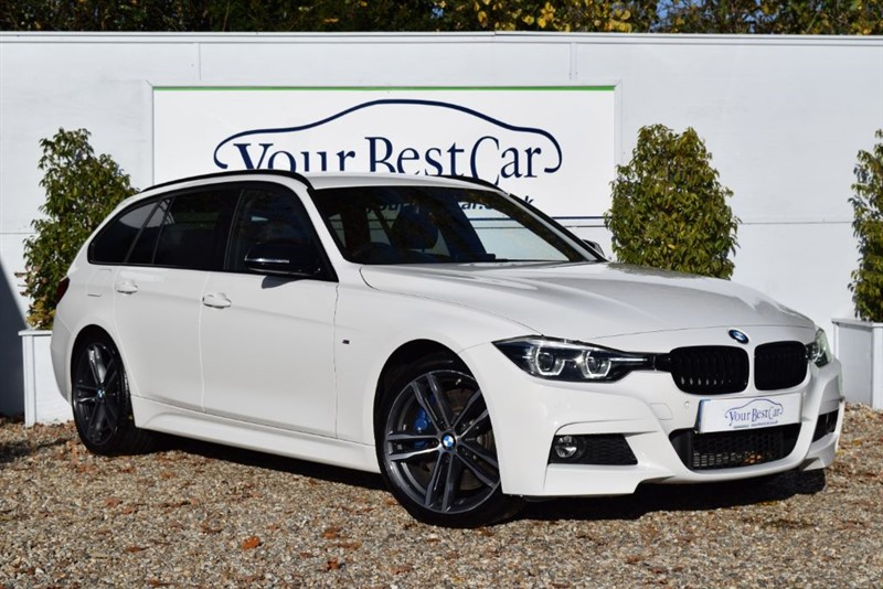 used BMW 330d M SPORT SHADOW EDITION TOURING in cranbrook-common-kent