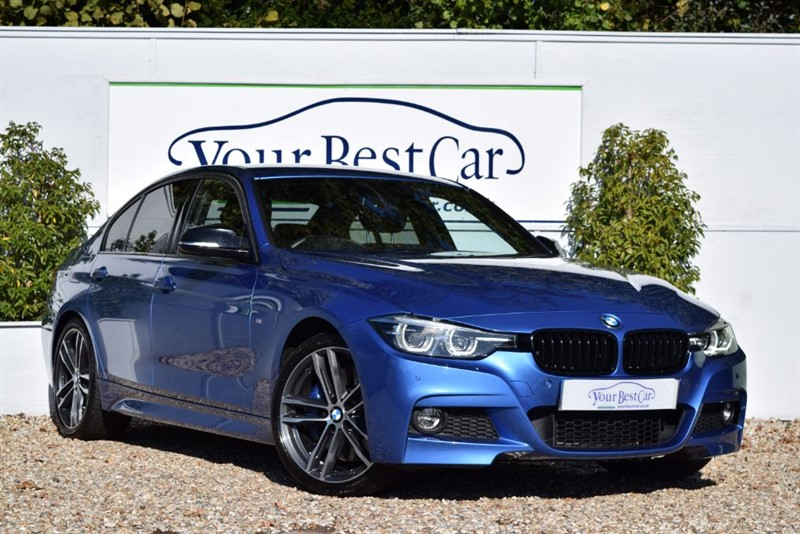 used BMW 330d M SPORT SHADOW EDITION (PRO SAT NAV) in cranbrook-common-kent