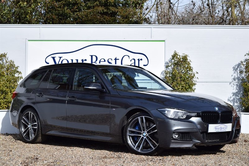 used BMW 335d XDRIVE M SPORT SHADOW EDITION TOURING (PRO MEDIA) in cranbrook-common-kent