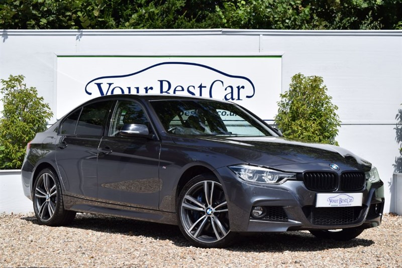 used BMW 335d XDRIVE M SPORT SHADOW EDITION (PRO MEDIA + REVERSE CAM) in cranbrook-common-kent
