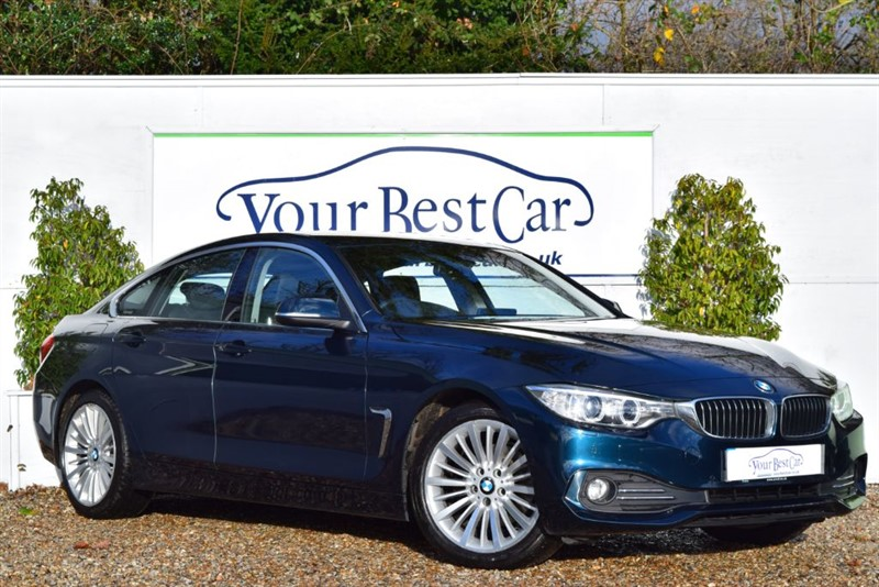 used BMW 420d LUXURY GRAN COUPE (HEATED SEATS + PRO NAV + 30 POUNDS TAX PER YEAR) in cranbrook-common-kent