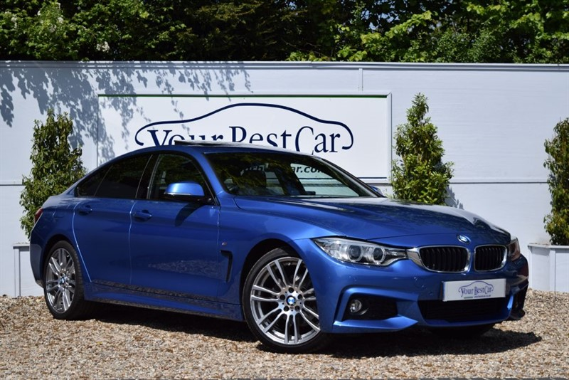used BMW 420i M SPORT GRAN COUPE in cranbrook-common-kent