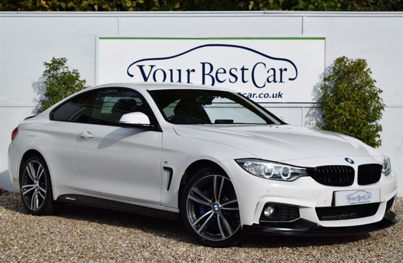 used BMW 430d XDRIVE M SPORT (M Performance Style Pack + Pro Media) in cranbrook-common-kent