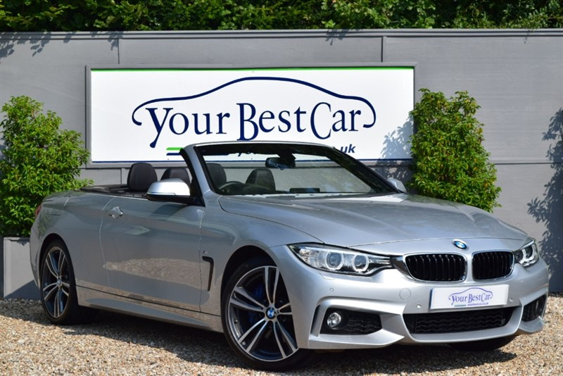 used BMW 420i M SPORT in cranbrook-common-kent