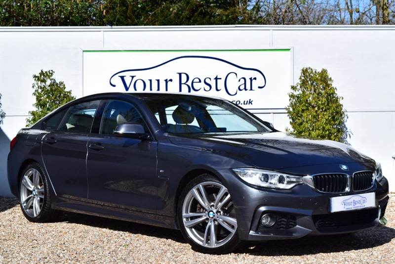 used BMW 430d M SPORT GRAN COUPE in cranbrook-common-kent