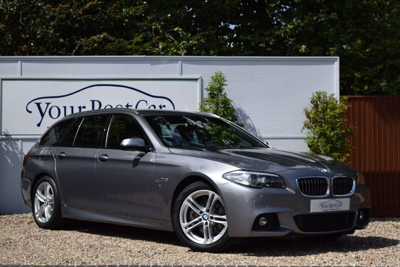 used BMW 520d M SPORT TOURING in cranbrook-common-kent