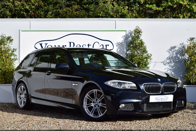 used BMW 520d M SPORT TOURING (SAT NAV + FOLDING ELECTRIC MIRRORS) in cranbrook-common-kent
