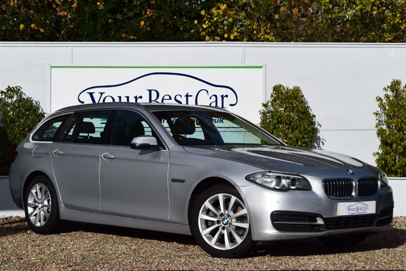 used BMW 520d SE TOURING (FULL BMW SERVICE HISTORY + HEATED SEATS) in cranbrook-common-kent