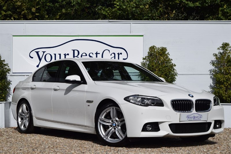 used BMW 520d M SPORT with Plus Package in cranbrook-common-kent