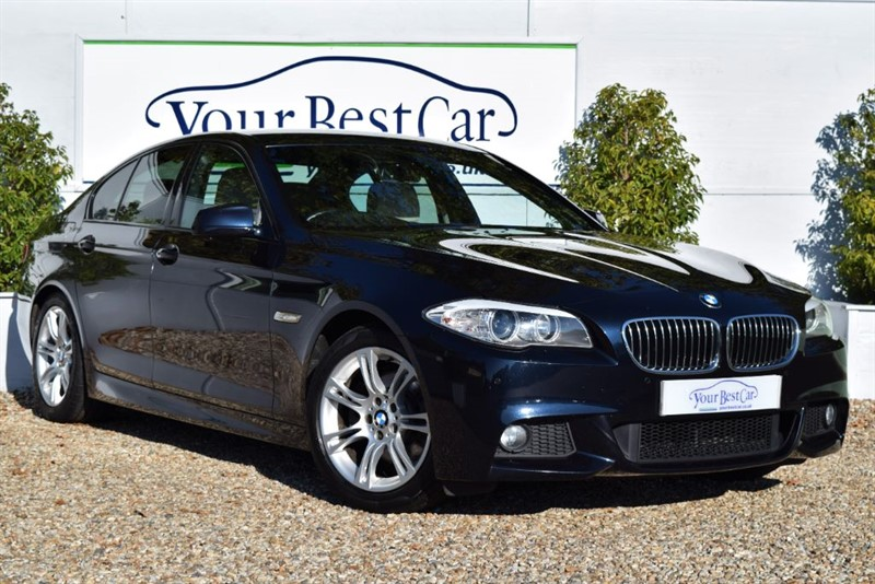used BMW 520d M SPORT (SAT NAV + HEATED LEATHER SEATS) in cranbrook-common-kent