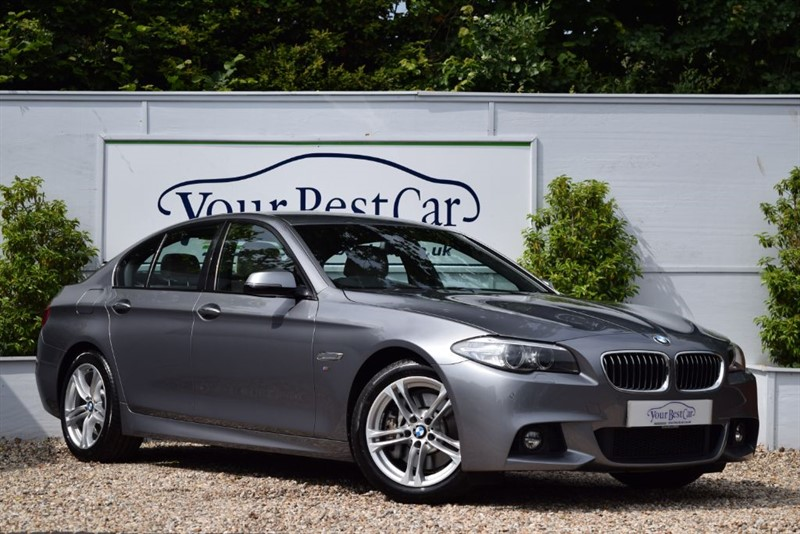 used BMW 525d M SPORT in cranbrook-common-kent