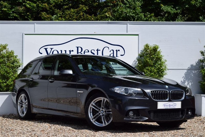 used BMW 530d M SPORT TOURING (PRO SAT NAV + ADAPTIVE RIDE + EURO 6) in cranbrook-common-kent