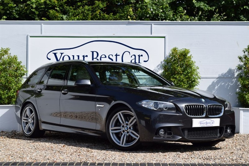 used BMW 530d M SPORT TOURING with Plus Pack and Professional Media in cranbrook-common-kent