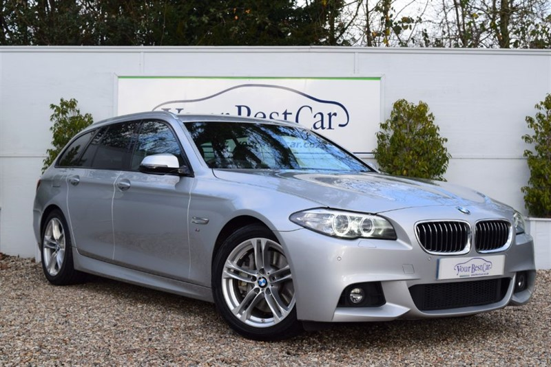 used BMW 530d M SPORT TOURING in cranbrook-common-kent