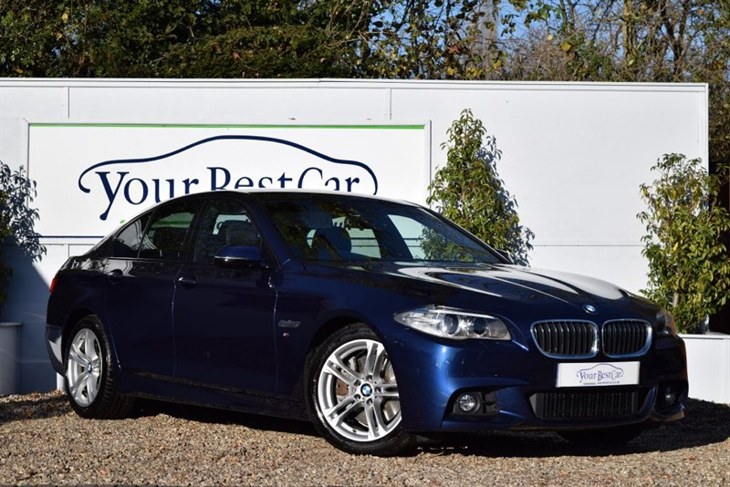 used BMW 530d M SPORT with Professional Media Sat Nav + Reverse Camera in cranbrook-common-kent
