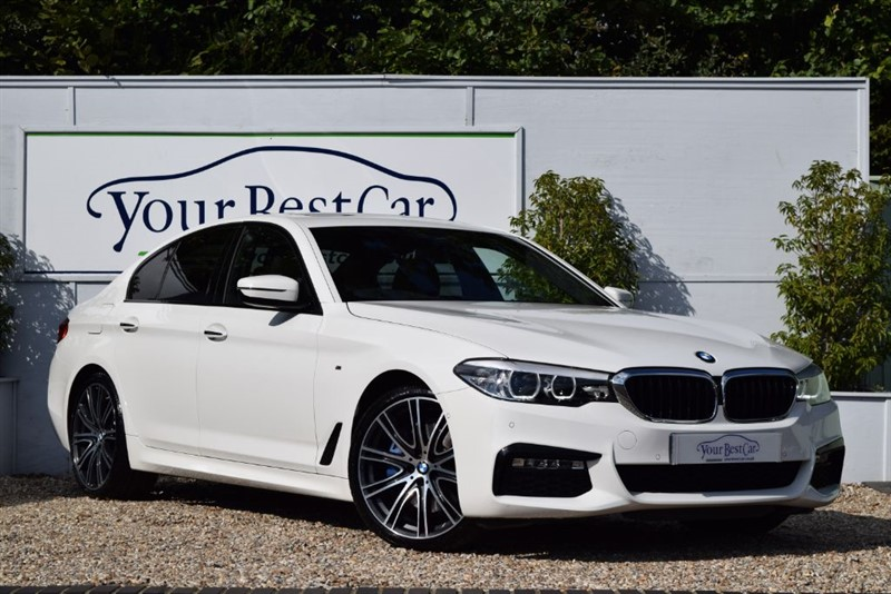 used BMW 530d M SPORT (SUNROOF + M SPORT PLUS + TECHNOLOGY PACKS) in cranbrook-common-kent
