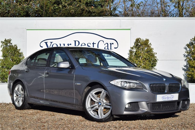 used BMW 530d M SPORT (SUNROOF + HEATED SEATS + 195 POUNDS TAX PER YEAR) in cranbrook-common-kent