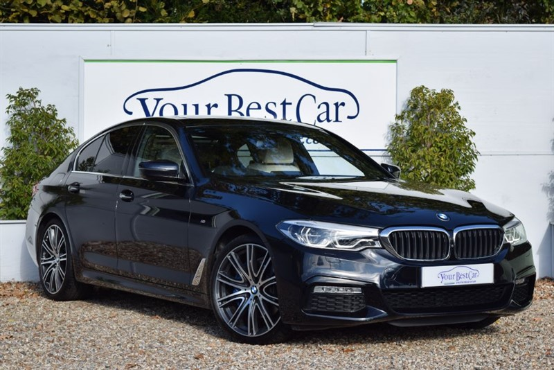 used BMW 530i M SPORT PLUS (SUNROOF + REAR ENTERTAINMENT) in cranbrook-common-kent
