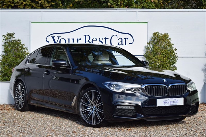 used BMW 530e M SPORT (SUNROOF + TECH & VISIBILITY PACKS) **DUE IN** in cranbrook-common-kent
