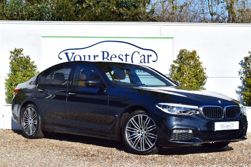 used BMW 530e M SPORT DUE IN: REAR SEAT DVD +SUNROOF in cranbrook-common-kent