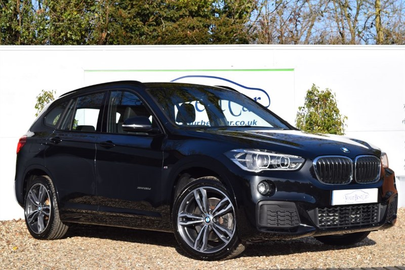 used BMW X1 XDRIVE20D M SPORT (SAT NAV PLUS + REVERSE CAM) in cranbrook-common-kent