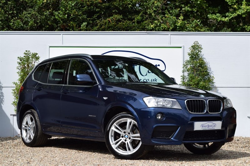 used BMW X3 XDRIVE20D M SPORT in cranbrook-common-kent