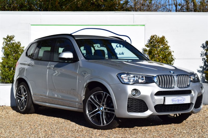 used BMW X3 XDRIVE30D M SPORT in cranbrook-common-kent