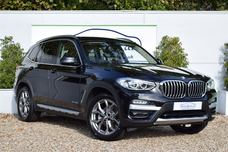 used BMW X3 XDRIVE20I XLINE (PAN SUNROOF + NEW SHAPE) in cranbrook-common-kent