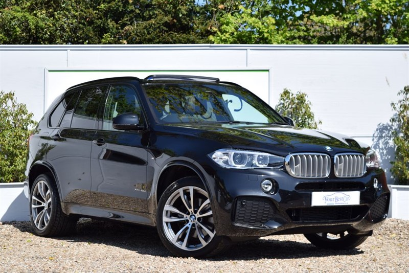 used BMW X5 XDRIVE40D M SPORT (SUNROOF + 7 SEATS) in cranbrook-common-kent