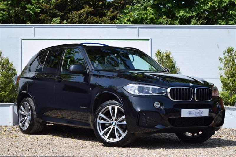 used BMW X5 XDRIVE30D M SPORT with Panoramic Sunroof in cranbrook-common-kent