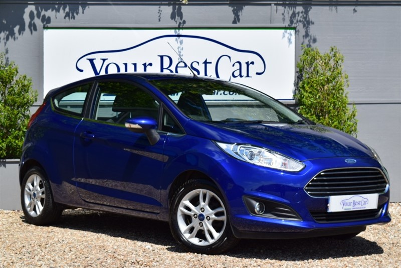 used Ford Fiesta ZETEC TDCI in cranbrook-common-kent