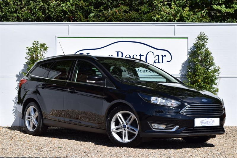 used Ford Focus TITANIUM TDCI in cranbrook-common-kent