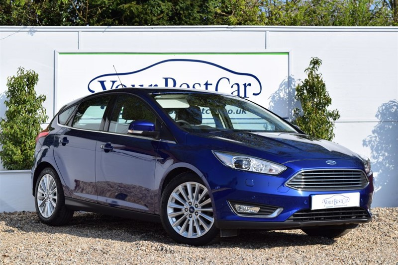 used Ford Focus TITANIUM X TDCI with Full Leather and Sync 2 Sat Nav in cranbrook-common-kent