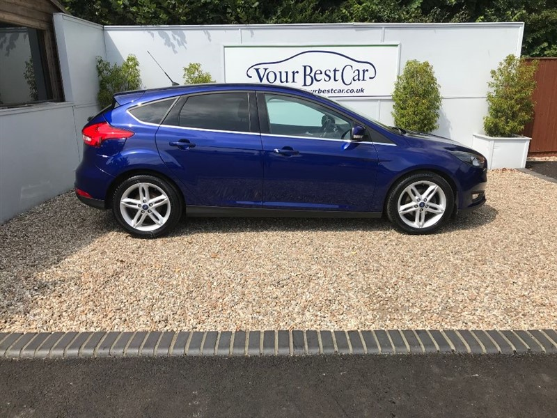 used Ford Focus ZETEC TDCI (SAT NAV + APPEARANCE PACK) in cranbrook-common-kent
