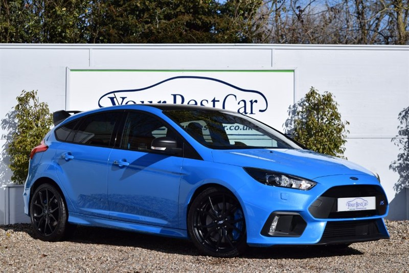 used Ford Focus RS Edition (AS NEW - 1 of 500 CARS) in cranbrook-common-kent